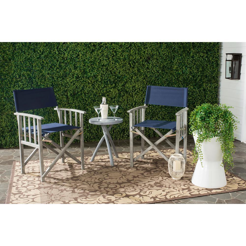 Laguna Green Folding Director's Chair (Set of 2)
