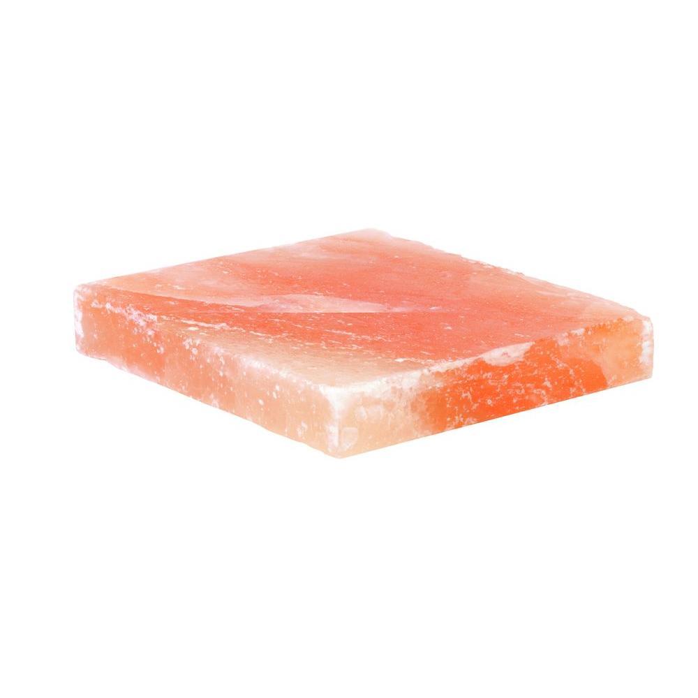 8 in. x 8 in. x 1.5 in. Himalayan Salt Plate