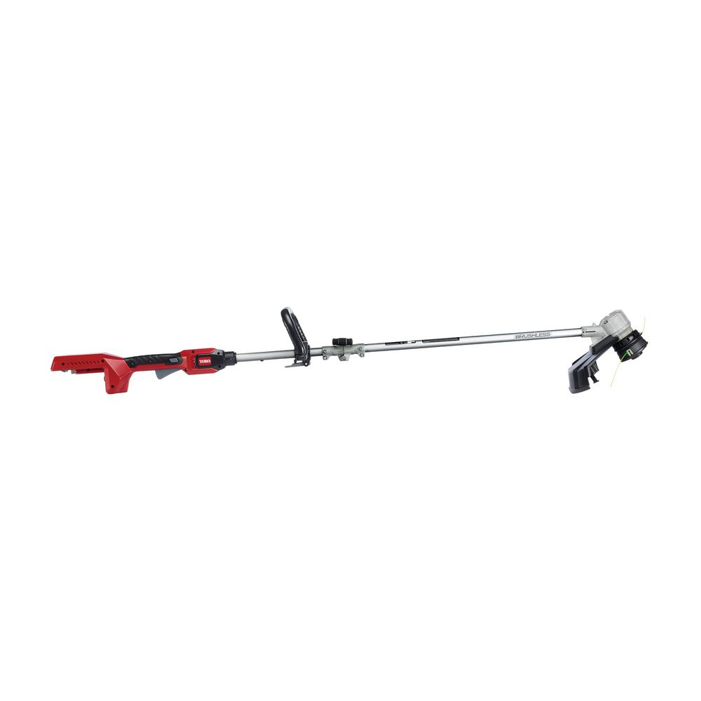 Toro PowerPlex 14 in. 40-Volt Max Lithium-Ion Cordless Brushless DC String Trimmer - Battery and Charger Not lncluded