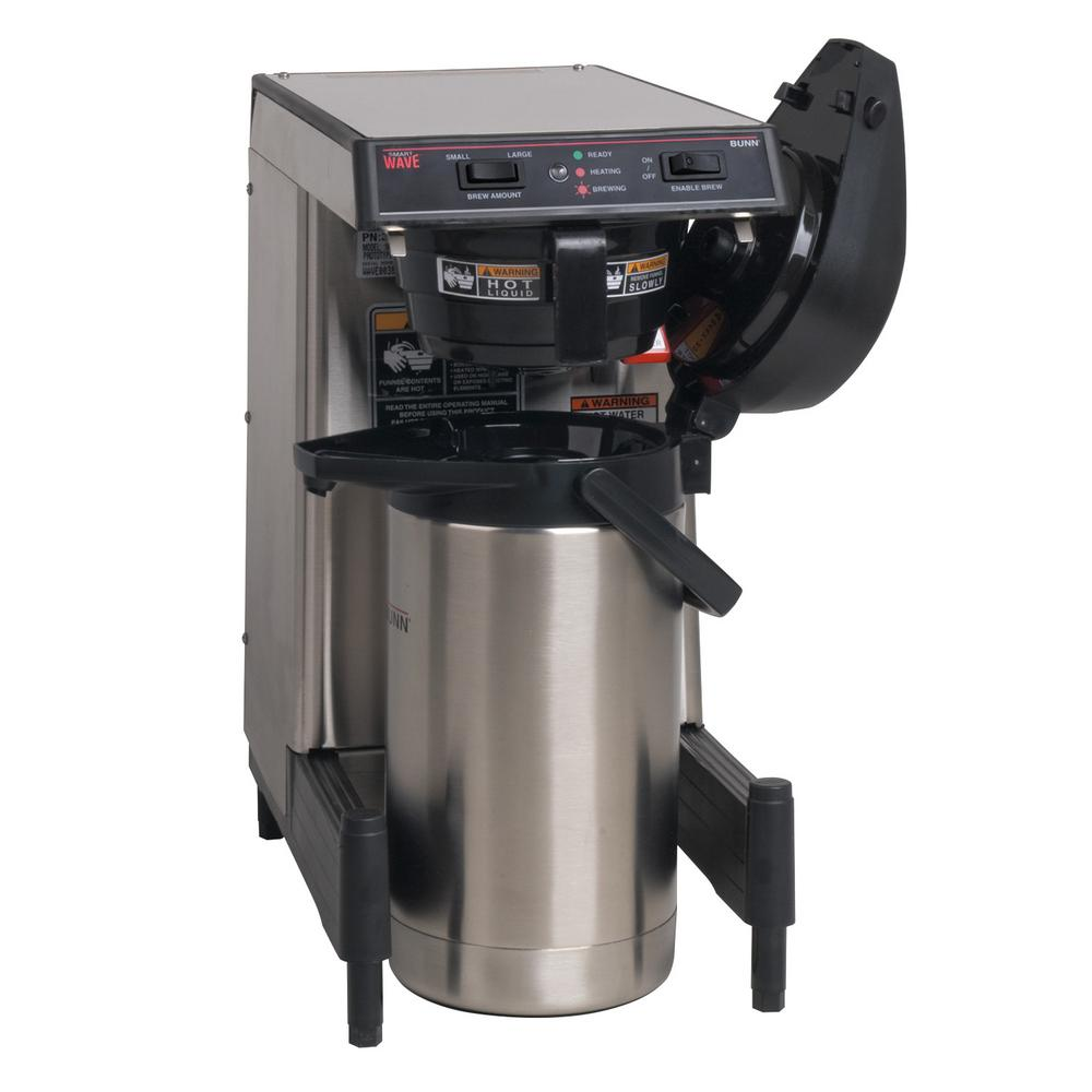 Bunn Thermal Server Coffee Brewer in Silver