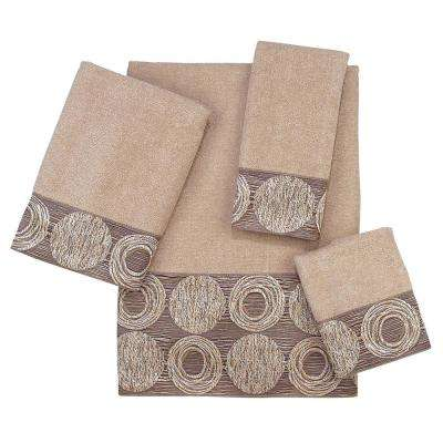 Galaxy 4-Piece Bath Towel Set in Linen