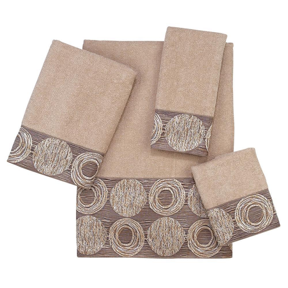 Avanti Linens Galaxy 4 Piece Bath Towel Set In Linen 01933s Lin