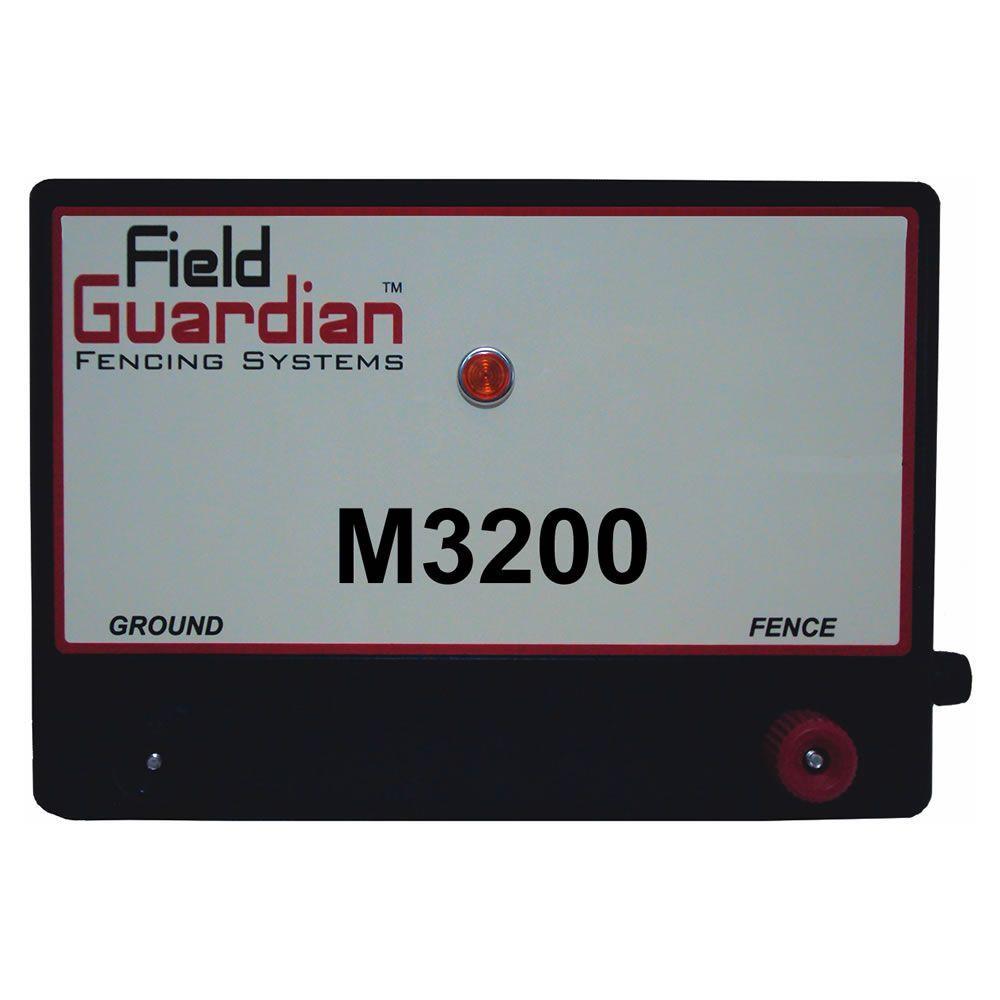 Field Guardian M3200 Fence Energizer System 32-Joule