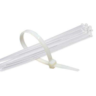 17 in. Clear Nylon Cable Ties (500-Piece)
