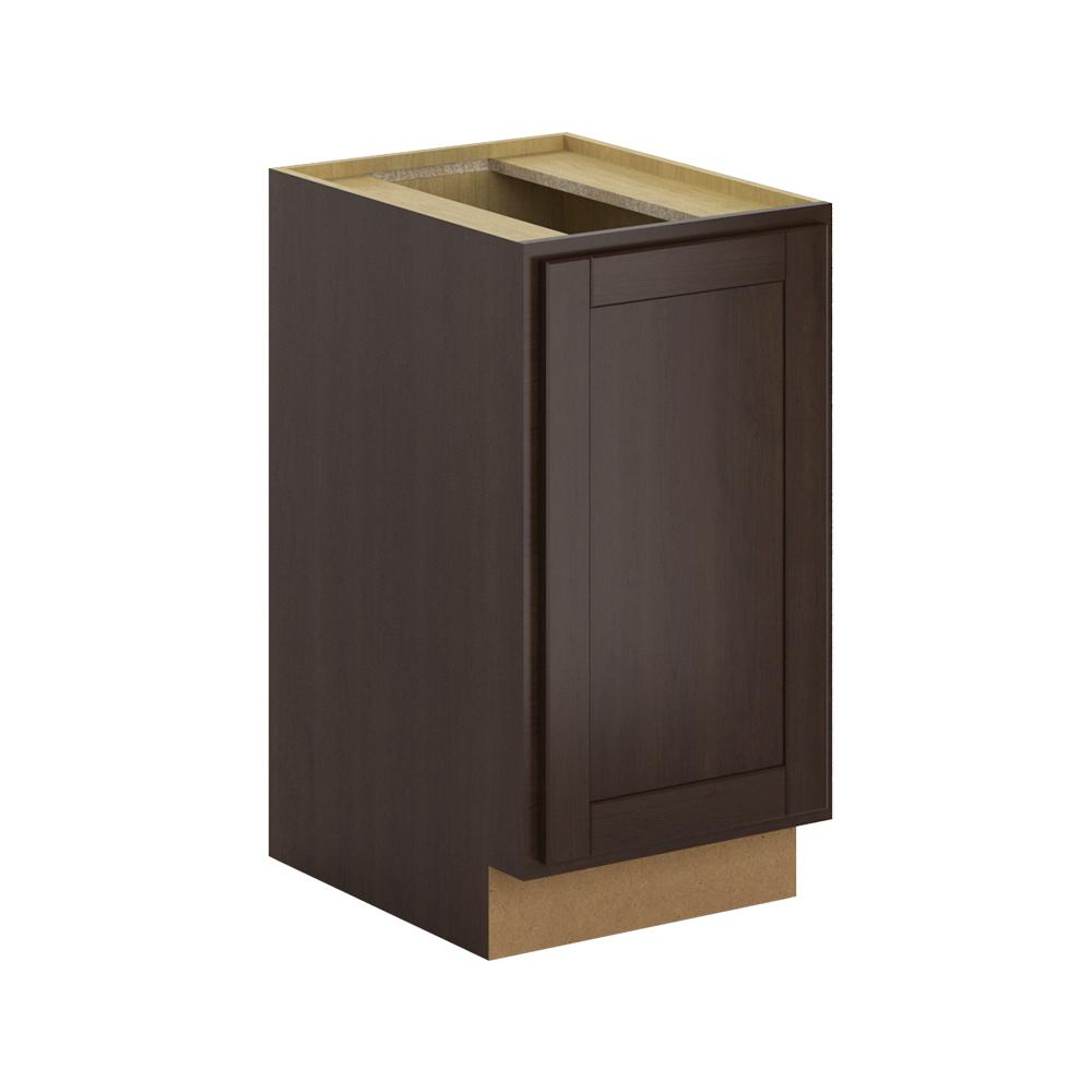 Princeton Assembled 18x34.5x24 in. Pull Out Trash Can Base Kitchen Cabinet