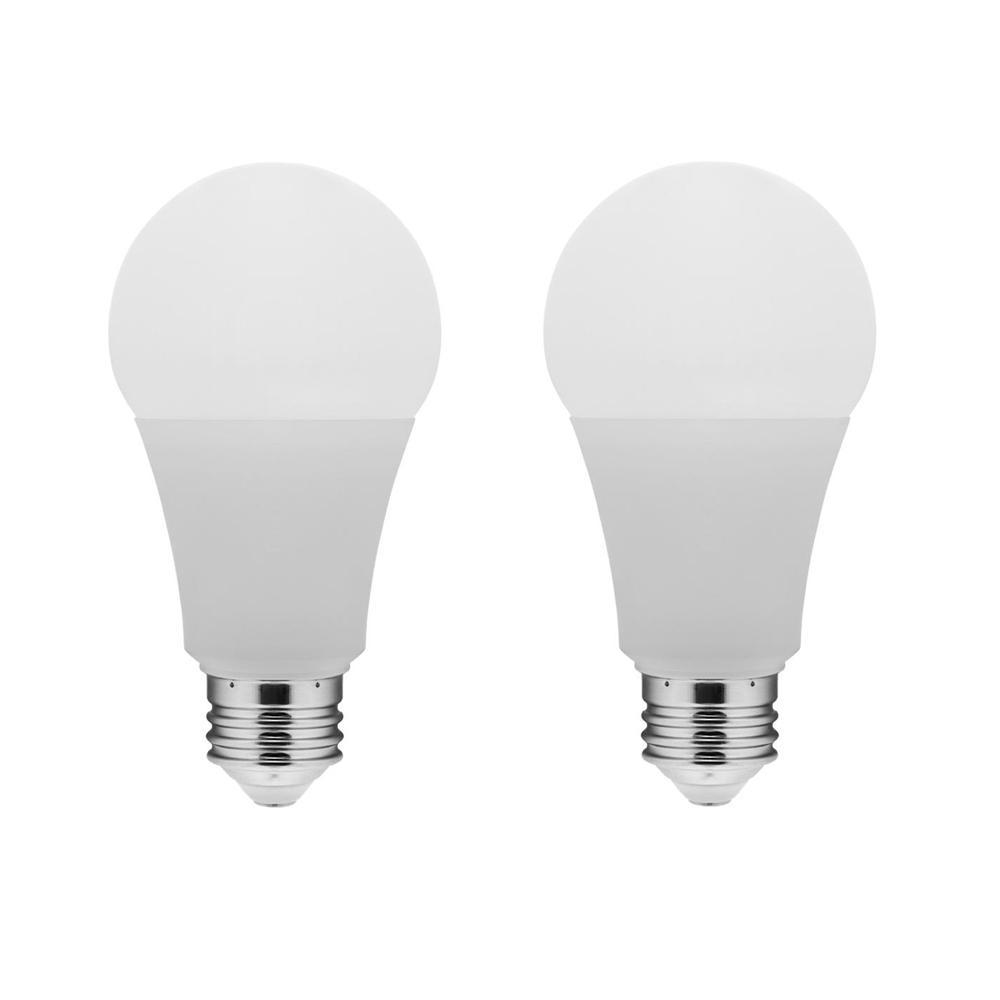 Euri Lighting 75-Watt Equivalent A19 Dimmable LED Light Bulb (2-Pack)
