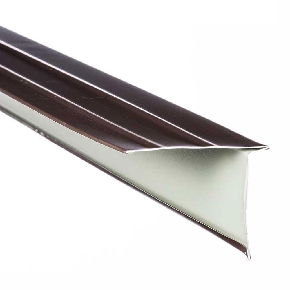 2-5/8 in. x 12 ft. Royal Brown Aluminum Drip Edge Trim