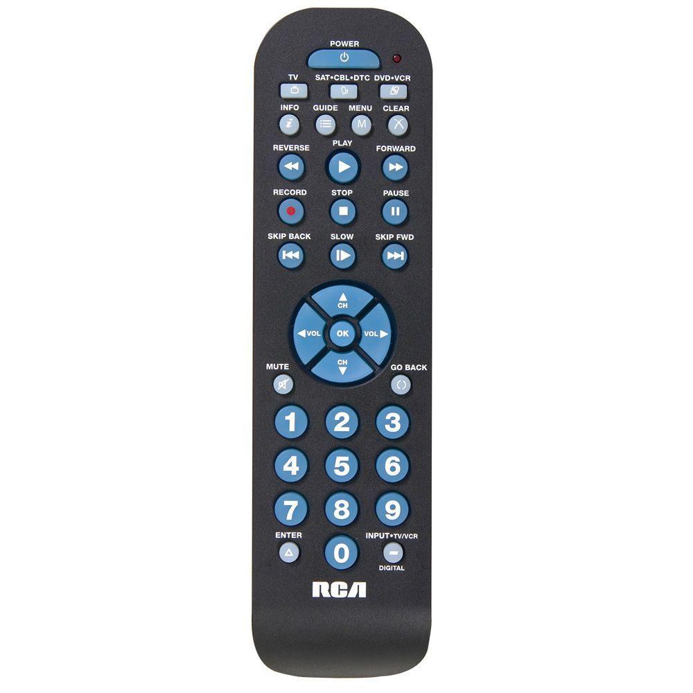 3-Device Universal Remote Control