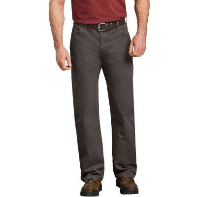 Men's Rinsed Timber Relaxed Fit Straight Leg Carpenter Duck Jean