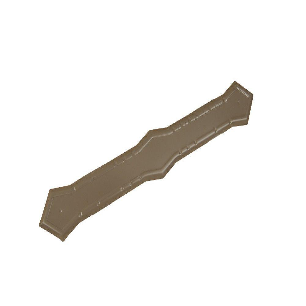 Terra Bronze Aluminum Downspout Band