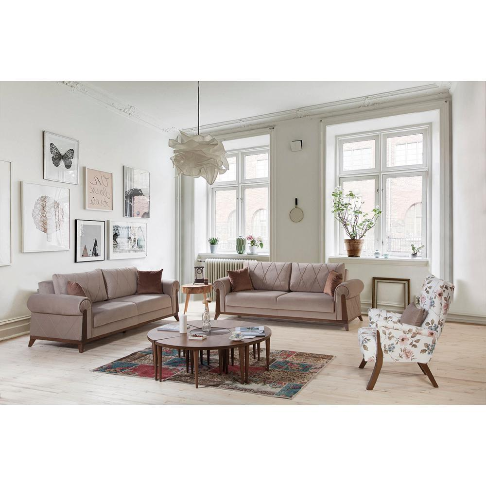 London Brown Sofa-London8 - The Home Depot