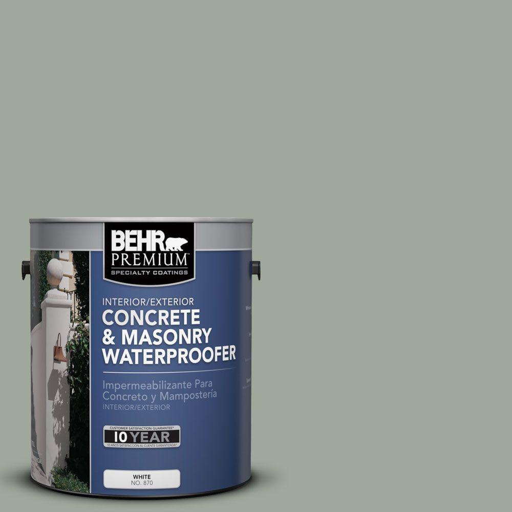BEHR Premium 1 gal. #BW-57 Aged Sage Concrete and Masonry Waterproofer