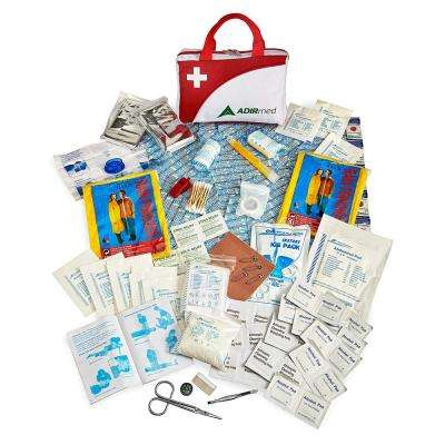 154-Piece First Aid Kit in Red
