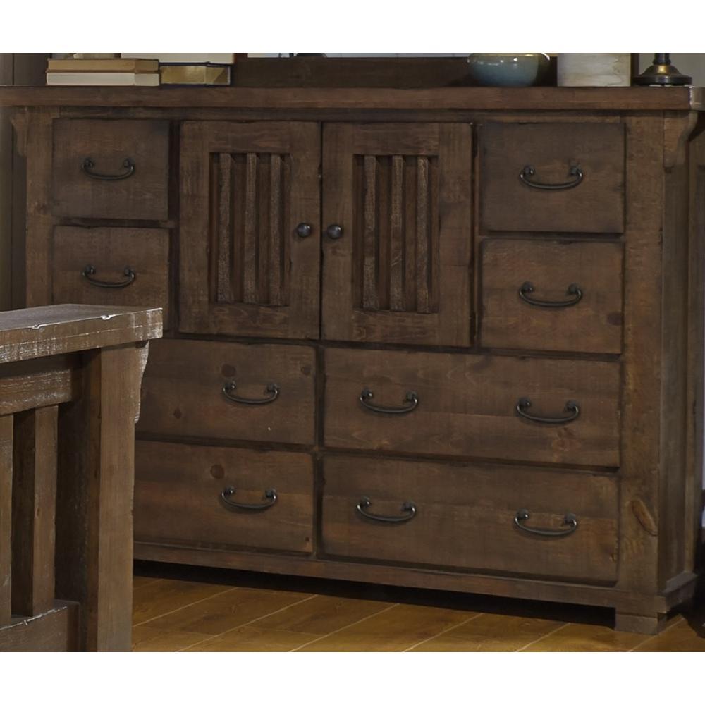 Forrester 8-Drawer Tobacco Dresser