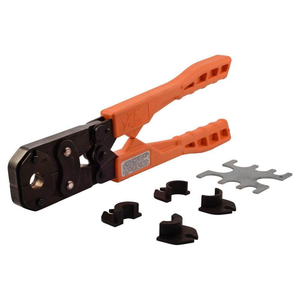 SharkBite Multi-Head PEX Copper Crimp Ring Tool Kit