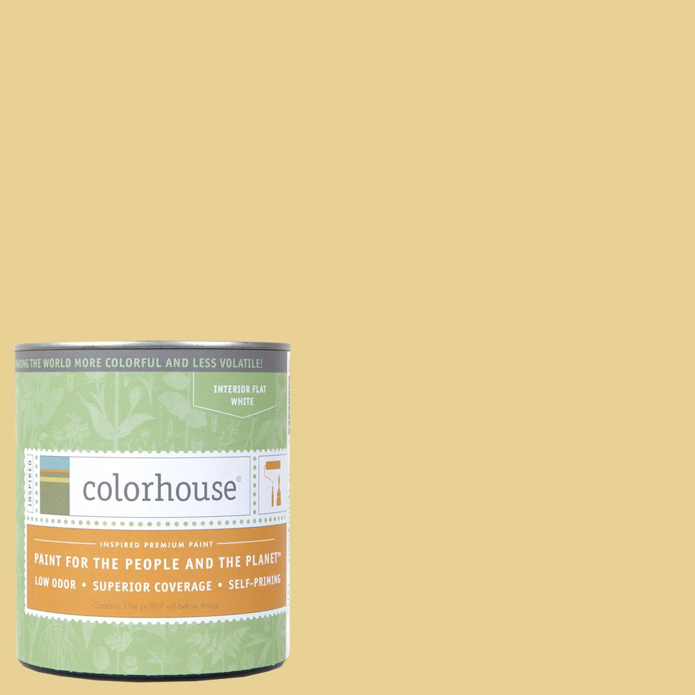 Colorhouse 1 qt. Beeswax .02 Flat Interior Paint