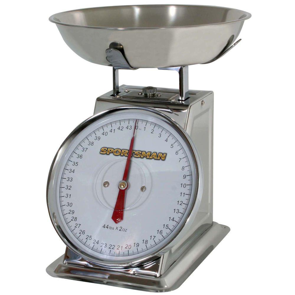 Sportsman Analog Food Scale-SSDSCALE - The Home Depot