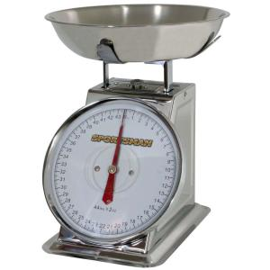 Click here to buy Sportsman Analog Food Scale by Sportsman.