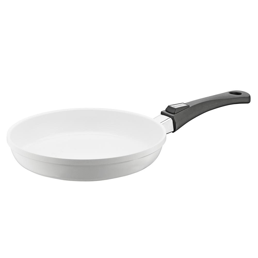 Berndes Vario Click Pearl 13 in. Induction Round Fry Pan without Lid White