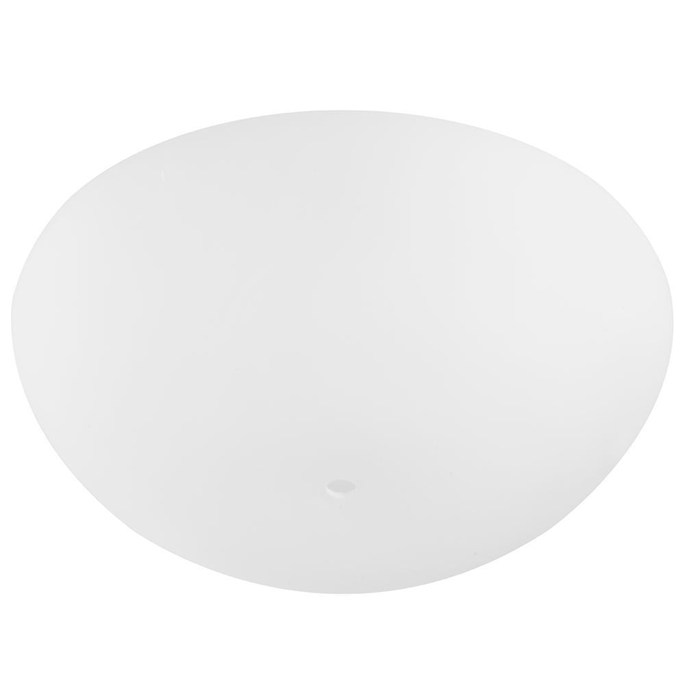 Replacement Matt Opal (Bottom) Glass Bowl For Chardonnay Ceiling Fan