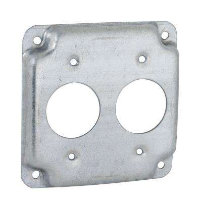4 in. Square Exposed Work Cover for 15A Round Devices (10 Pack)