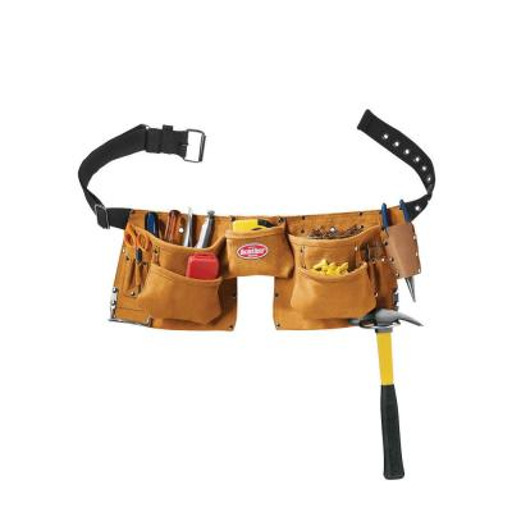 NEW! Craftsman 940643 Leather Work Belt Construction Carpenter Roofing Siding