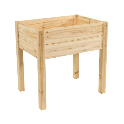 28 in. x 20 in. Cedar Raised Garden Bed Planter