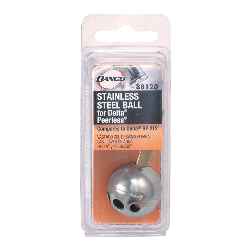 Danco Faucet Shop Danco Metal Faucet Ball For Delta: DANCO SELECT #70 Stainless Steel Ball For Delta Plumbing