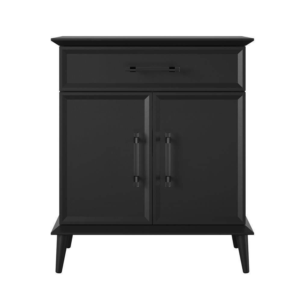 Holbrook 30 in. Black Storage Cabinet
