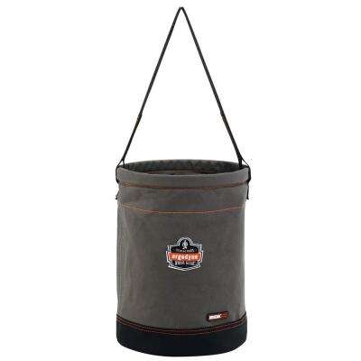 Arsenal 12.5 in. Tool Bucket in Gray Canvas