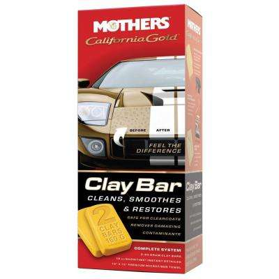 California Gold Clay Bar System (Case of 6)