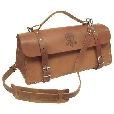 8 in. Deluxe Leather Tool Bag