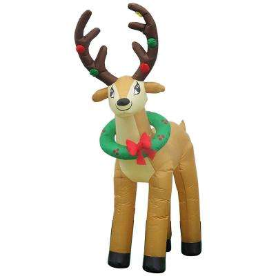 Reindeer  Christmas Inflatables  Outdoor Christmas Decorations
