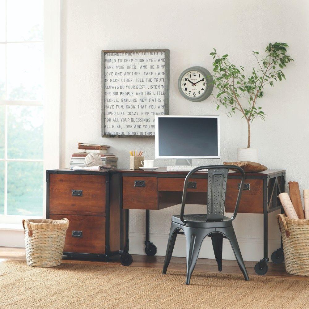 Home Decorators Collection Industrial Empire Desk by Home Decorators Collection