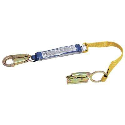 Upgear 3 ft. Manual Rope Adjuster with Shock Absorbing Lanyard for 5/8 in. Rope