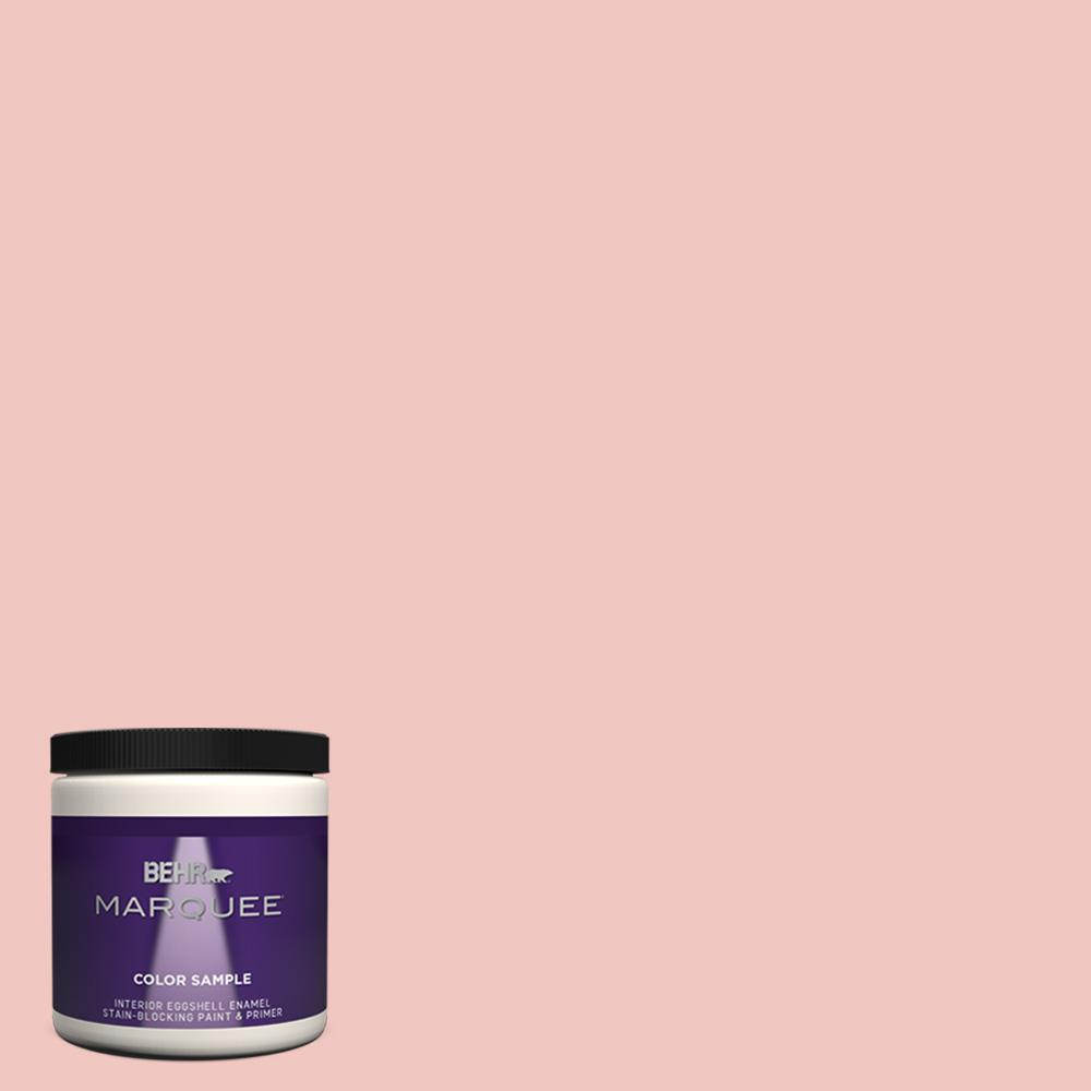 Behr Marquee 8 Oz M170 2 Prairie Rose Eggshell Enamel Interior Paint And Primer In One Sample Mq31016 The Home Depot