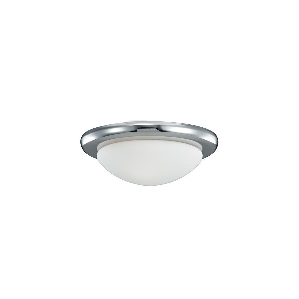 Monte Carlo Polished Nickel Ceiling Fan Light Kit - Monte Carlo Polished Nickel Ceiling Fan Light Kit-MC18PN - The