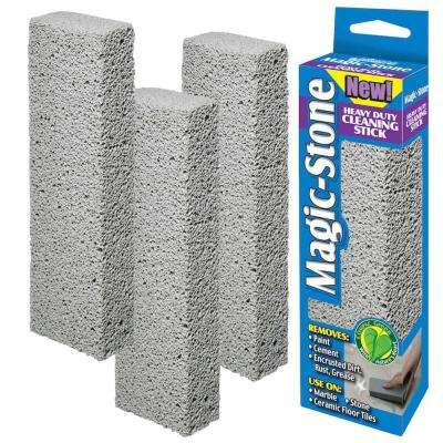 Heavy-Duty Outdoor and Indoor Ceramic Tile Marble Rock Natural Stone Metal Cement All Purpose Cleaning Stone (4-Pack)