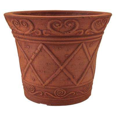 Scroll Grower 5 in. x 4 in. Terra Cotta PSW Pot
