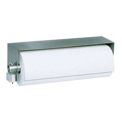 Stainless Solutions Paper Towel Holder in Steel
