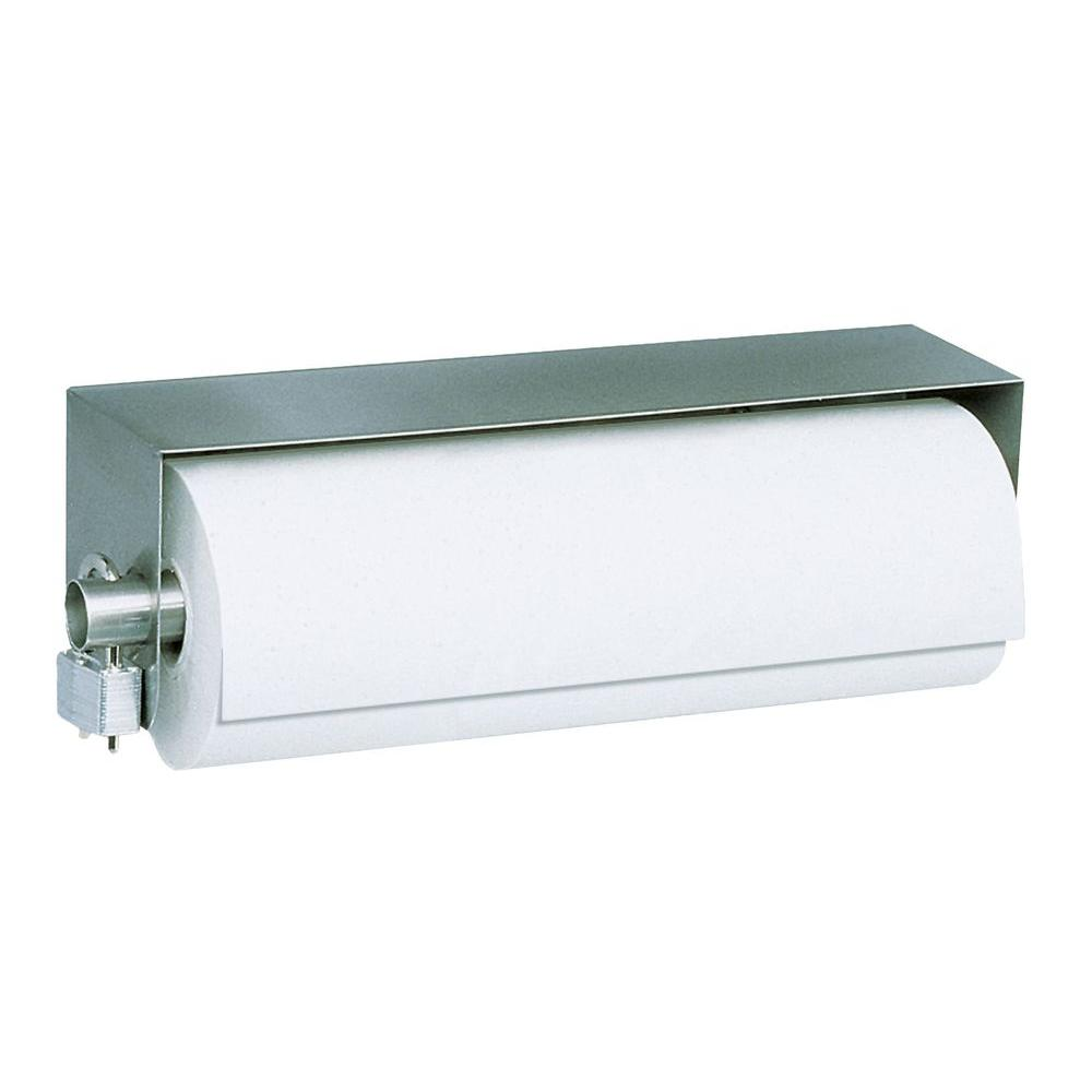 Stainless Solutions Stainless Solutions Paper Towel Holder in Steel