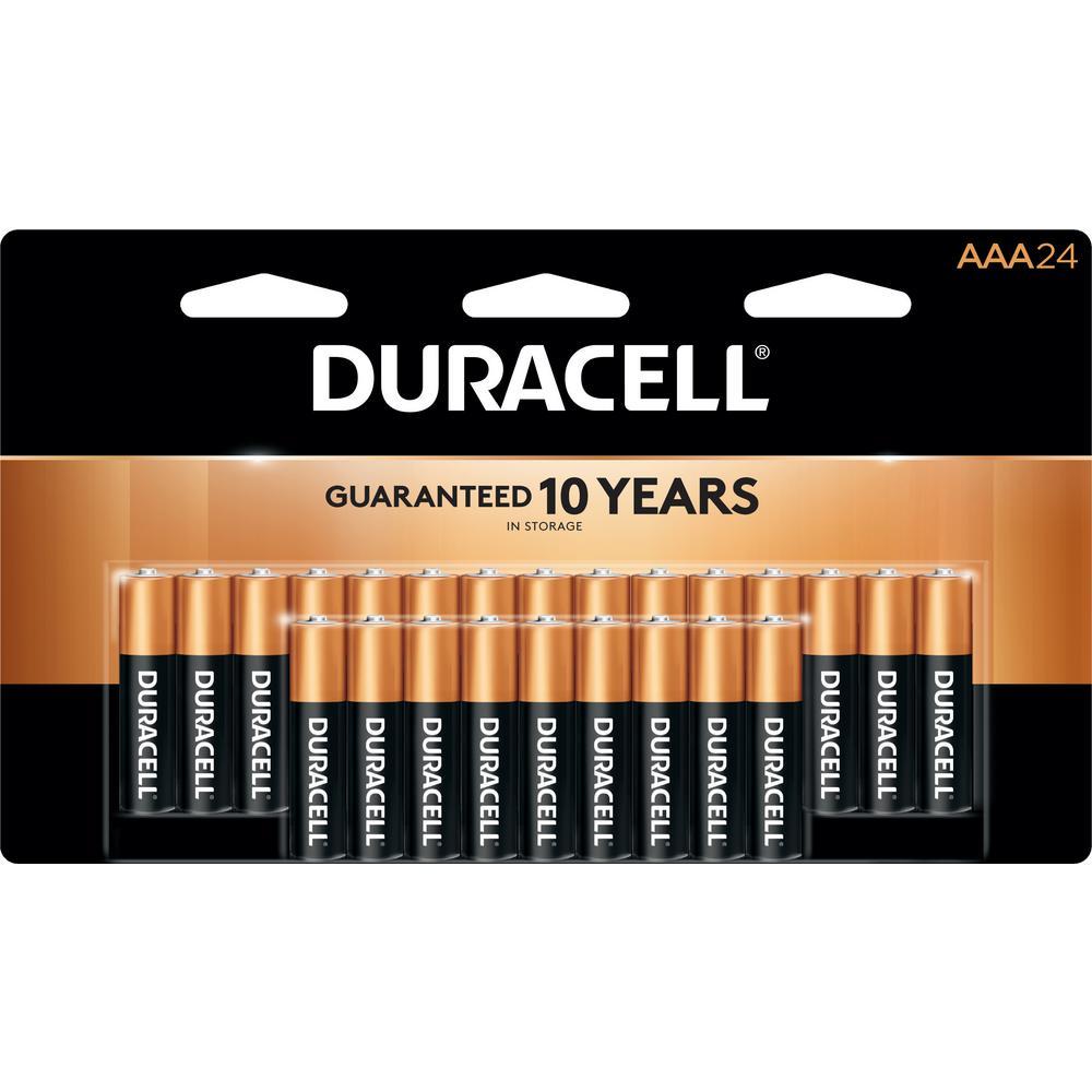 Duracell Coppertop AAA Alkaline Battery (24-Pack)