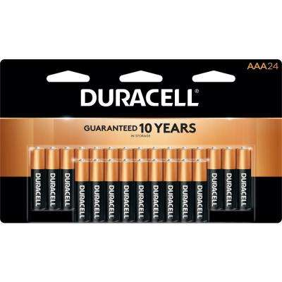 Coppertop AAA Alkaline Battery (24-Pack)