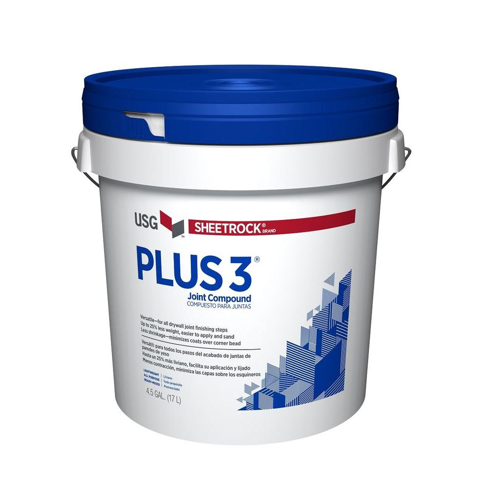 Sheetrock Sheetrock 4.5 Gal. Plus 3 Lightweight All-Purpose Pre-Mixed Joint Compound