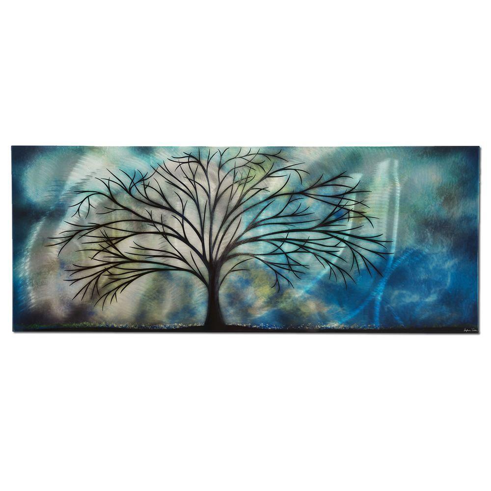 Filament Design Brevium 19 In. X 48 In. Moonlight Serenade Metal Wall Art CLI NA7010385    The Home Depot