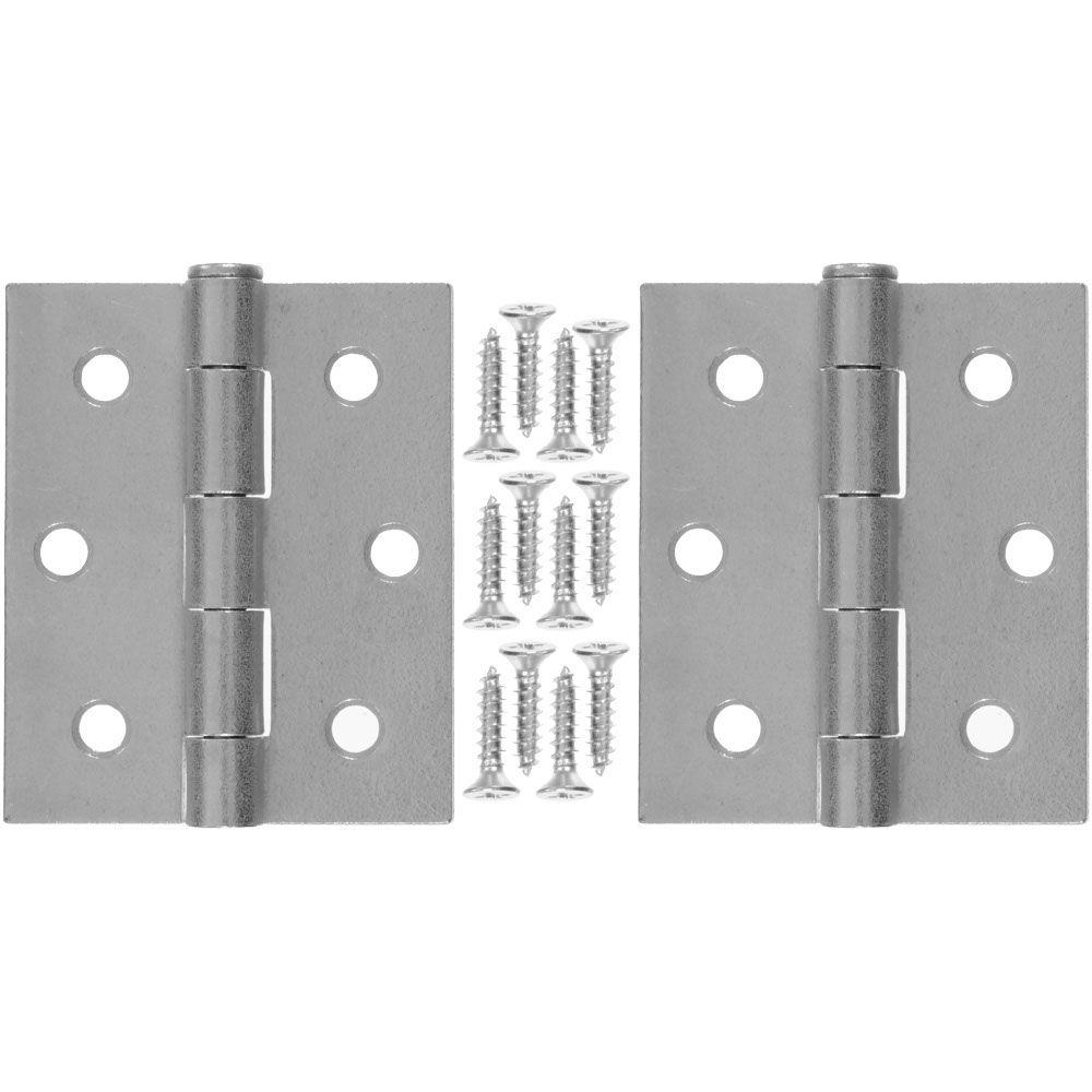 Wright Products 3 In X 2 5 In Galvanized Steel Hinge 1