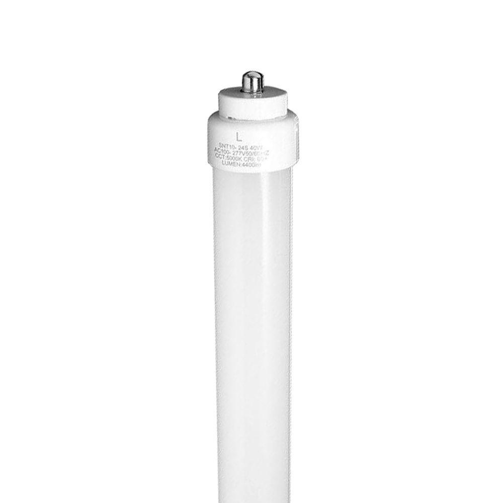 3NLED 8 ft. T10 36-Watt Daylight FA8 Frosted Lens Linear LED Tube Light Bulb