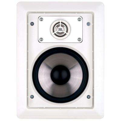 Architectural Edition powered by JBL 80 Watt Two-Way In-Wall Speaker, White