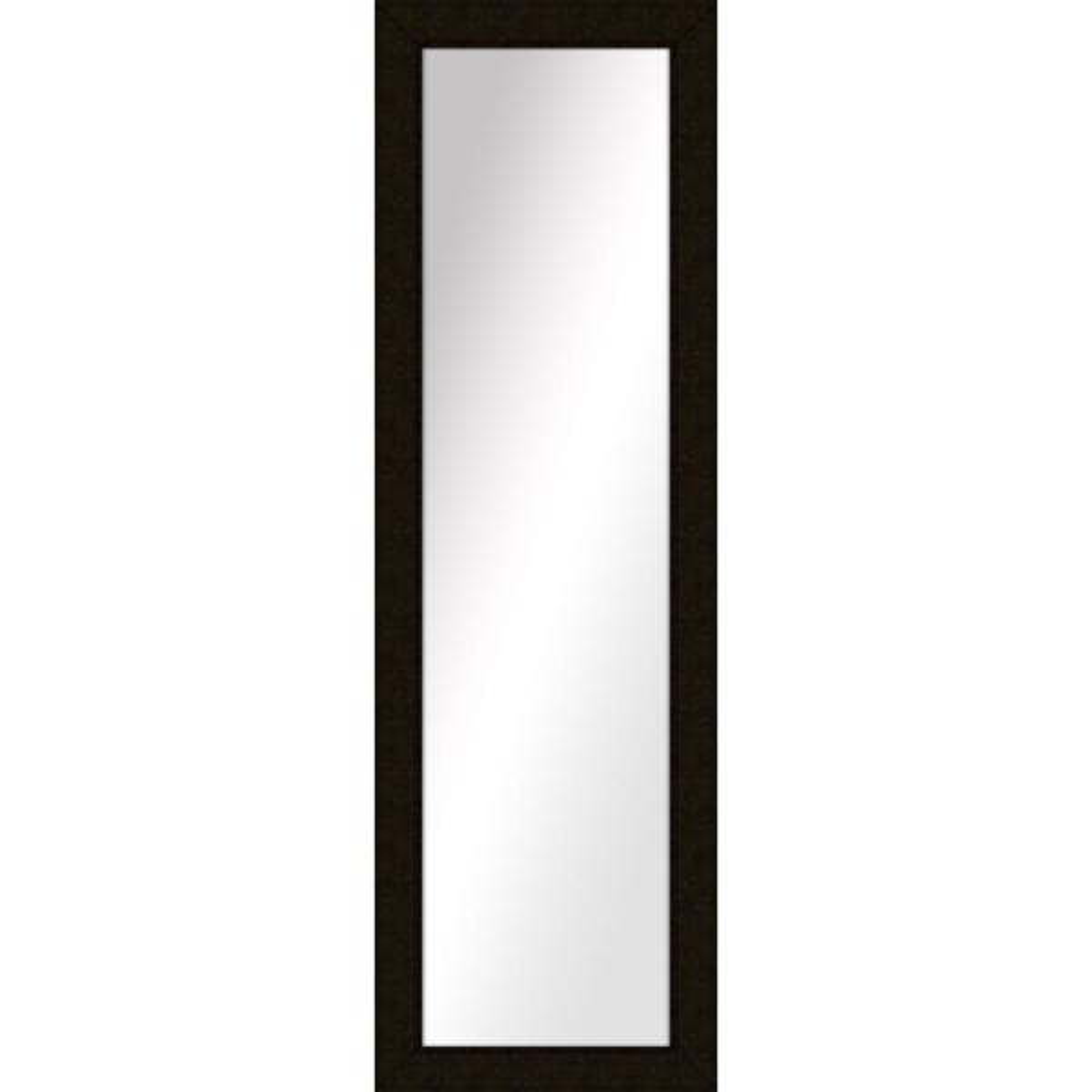 Large Rectangle Dark Bronze Art Deco Mirror (51.5 in. H x 15.5 in. W)
