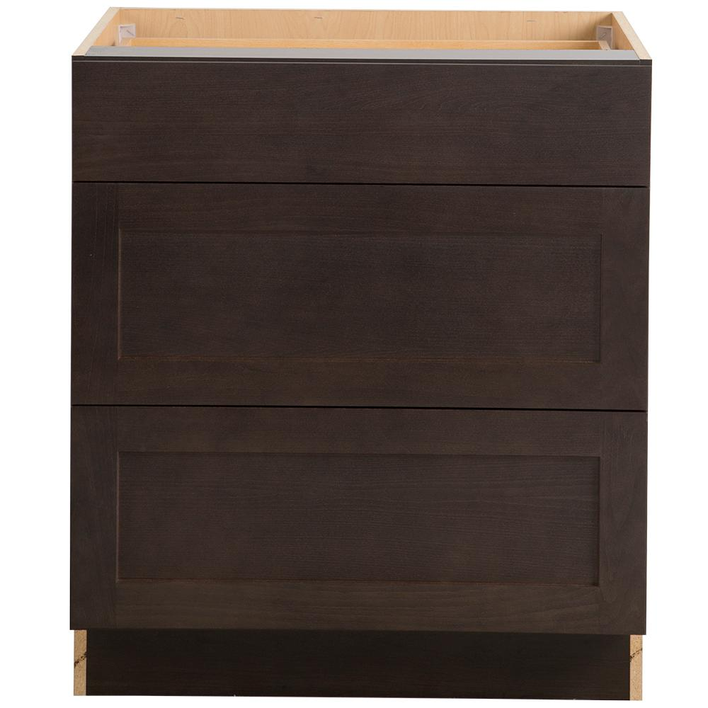 Cambridge Pantry Cabinets In Dusk: Hampton Bay Cambridge Assembled 30x35x24.6 In. Base